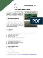 RFM98PW_RFM95PW RF Transmitter and Receiver Module Datasheet REV1.1.pdf