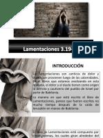 Lamentaciones 3.19-24