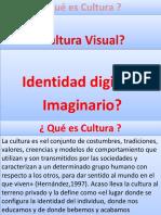 Tema 3.2. Cultura Visual, Identidad e Imaginario