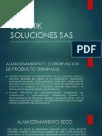 Almacenamiento y Conservacion de Productos Terminados