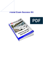 Postal Exam Success Kit