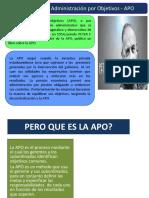 APO Administracion Por Objetivos