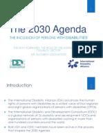 2030 Agenda Presentation - Youth - Ida and Iddc Dr Elizabeth Lockwood