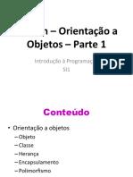 Python - Orientado a Objetos