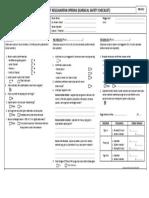 RM 34.5 Checklist Keselamatan Operasi Surgical Safety Checklist PDF