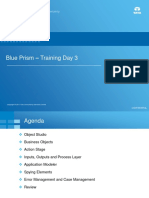 Blue Prism Training - Day 3