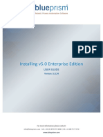 Blue Prism User Guide - Installing v5.0 Enterprise Edition