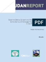 3080 External Debts Growth and Peace in the Sudan