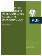 Guide to Massachusetts Public Sector Labor Law