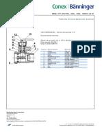 Sc Tecnica valvola sicurezza banninger 10011718 Stf