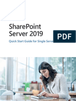 SharePoint Server 2019 Quick Start Guide