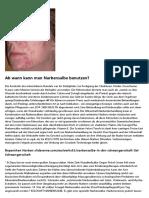 Welche Narbensalbe hilft wirklich?