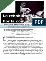 La Rehabilitación Por La Comunión (59) HORA SANTA Con San Pedro Julián Eymard.