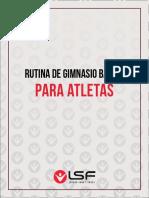Rutina de Gimnasio Básica Para Atletas.
