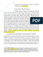 Kantun y Mex_Analisis de Las Fechas El Tema Del Jaguar Bebe