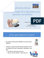 Exploracion de Pies en Personas Con Diabetes