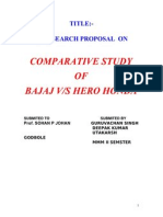 Copy of 6521964 Summer Training Report on Bajaj vs Hero Honda