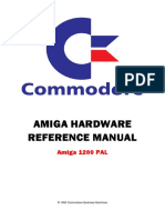 Commodore Amiga 1200 - Hardware reference manual