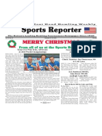 December 19 - 25, 2018  Sports Reporter
