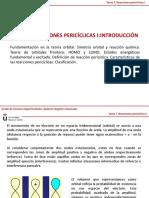 Tema 7. Reacciones Pericíclicas I