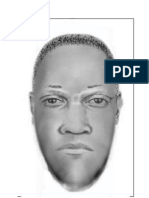 Composite Sketch of Attempted Armed Robbery Suspect