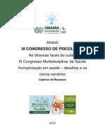 Anais Do III Congresso de Psicologia Unama 2018_final