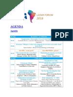 AGENDA Latam Forum Csa 2018