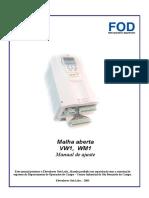 Manual Malha Aberta VW1 Otis