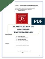 Planificacion de Recursos Empresariales