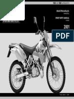 Ersatzt. + Datenbl. 125-Exc-125-SuperMoto