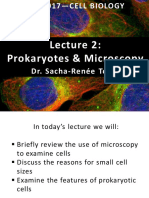 Lecture 2_Microscopy and Prokaryotes 2018
