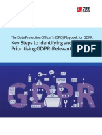 Ibm-2951-The Data Protection Officers Playbook for GDPR Key Steps to Identifying and Prioritising GDPR-Relevant Data