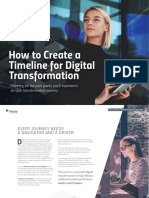 Bizagi How to Create a Timeline for Digital Transformation