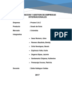 Formacion y Gestion de Empresas Internacionales - Snack de Ñuña - Final Total