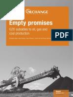 Oilchange Report - Empty promises