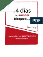 Microtaller Para Romper Un Bloqueo