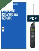Motorola DP3600 User Manual