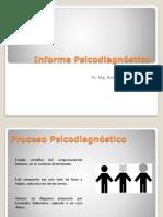 Clase 10. Informe Psicodiagnóstico