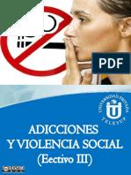 Adicciones y Violencia Social