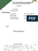 Materail Balance
