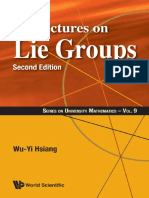 Lectures on Lie Groups, Second Edition