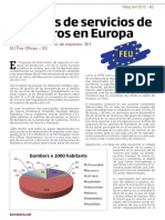 2015 Modelos de Servicios de Bomberos en Europa