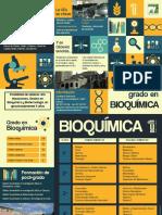 Triptico Grado en Bioquimica 2016