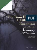 Flannery O'Connor Um bom homem é difícil de encontrar