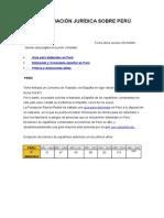 Información Jurídica Sobre Perú