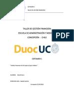 Aguas Andinas Informe