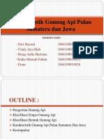 Karakteristik Gunung API Pulau Sumatera Dan Jawa