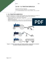 Capitulo IV El Tractor Agricola