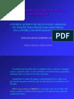 CONTROL QUÍMICO DE HELICOVERPA ARMIGERA EN TOMATE PARA PROCESADO INDUSTRIAL EN LA PUEBLA DE MONTALBÁN (TOLEDO