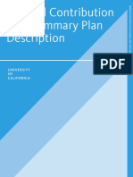 Defined Contribution Plan Summary Description